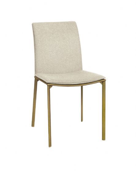 St Ives Oatmeal Dining Chair - Pair - UK Mainland Deivery